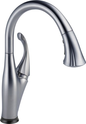 Delta Faucet 9192t Ar Dst Addison Single Handle Pull Down Kitchen Faucet With Touch2o Technology