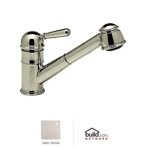 Rohl R77V3STN Single Metal Lever Country Kitchen Faucet