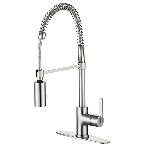 Commercial Style Pull Down Kitchen Faucets