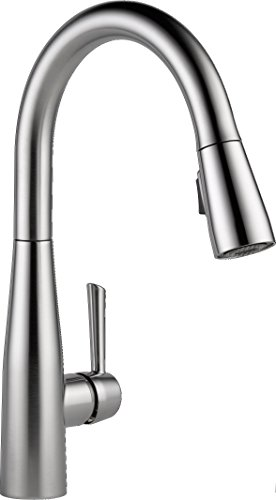 Delta Faucet Essa Single Handle Kitchen Sink Faucet With
